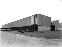 Industrial building in Adelaide built by Brimblecombe back of photo stamped D Darian Smith Photographer 101 Archer Street North Adelaide 333/97 taken 2.7.1962