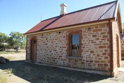 Smaller building restored