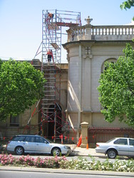 Brougham Place Uniting Church internal & external restoration & refurbishment