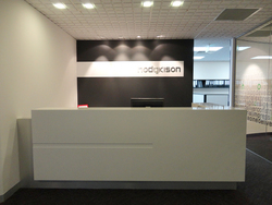 Hodgkison reception area - another example of great joinery fabrication