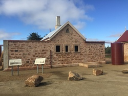 Terowie Railway Station, major stonework restoration