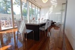 Dining room table - private residence - joinery excellence