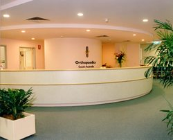 Reception area OSA Memorial Hospital Specialist Suites