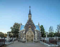 Rebuilt heritage landmark in Adelaide, conserved by Brimblecombe