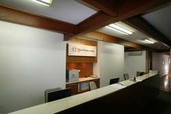South Terrace Urology - reception area crafted by Brimblecombe