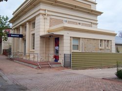 Maitland branch of Bank SA  had updated security, paint and carpets
