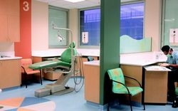 Multi-level  work  improved the Adelaide Dental Hospital treatment areas
