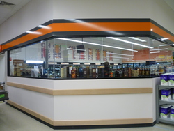 BWS outlet in a Mount Gambier shopping centre