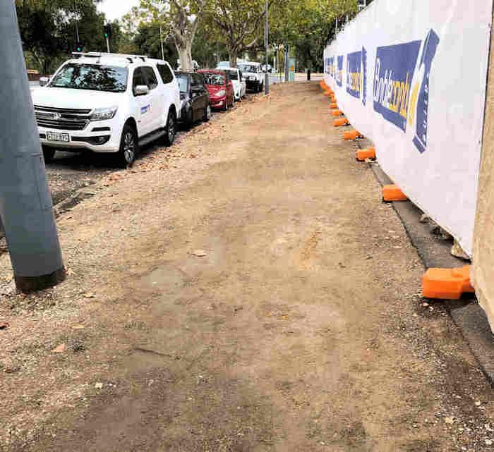 Wall repair Carclew